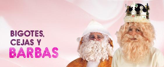 barba, bigores y cejas navidad