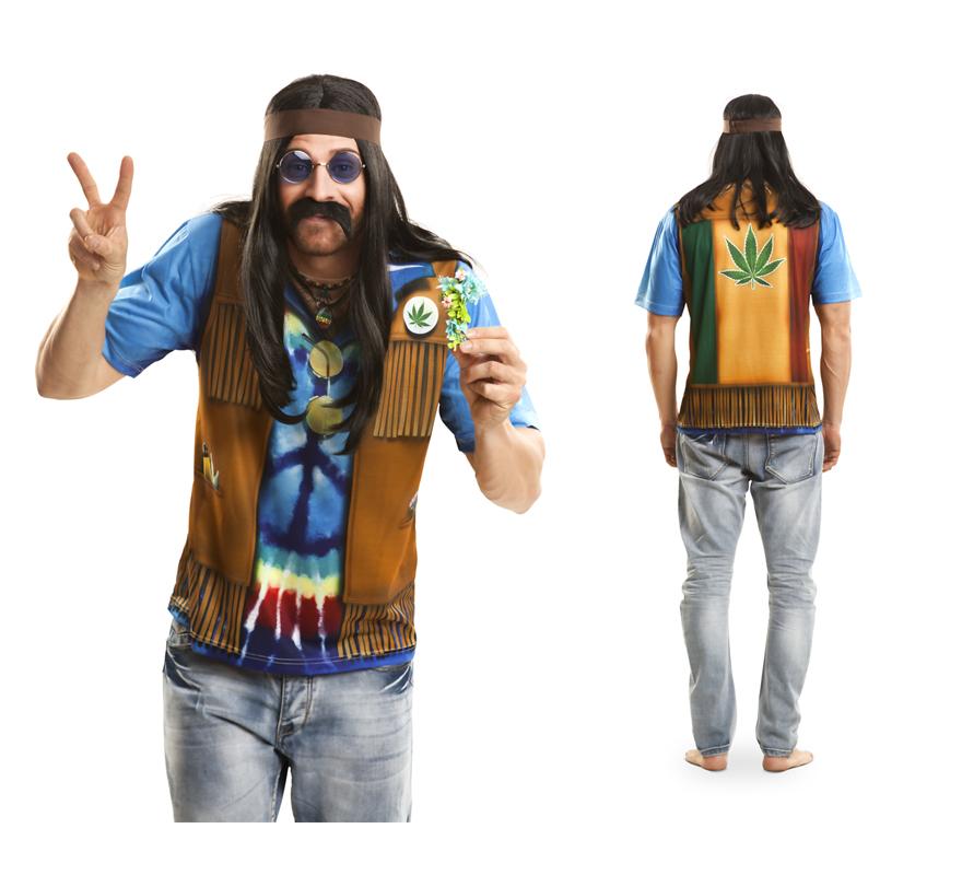 Disfraz hippie hombre xl car interior design for Disfraz de hippie