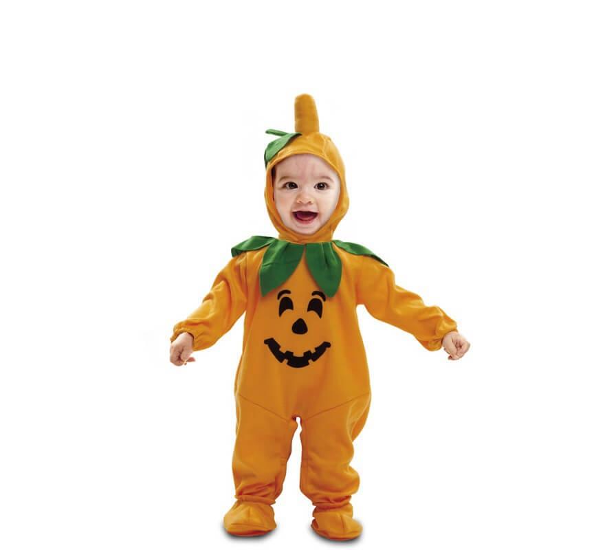 Disfraz de beb calabaza para beb s de 7 a 12 meses para - Disfraces halloween calabaza para ninos ...