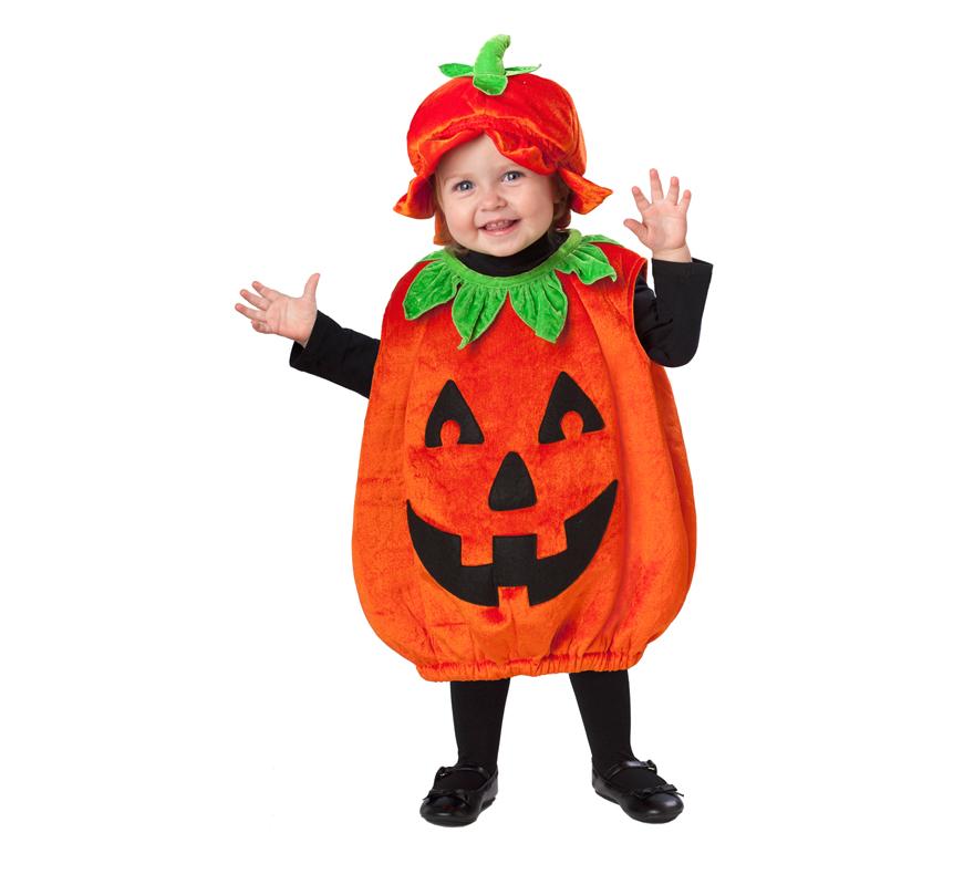 Disfraz de calabaza sonriente para beb s de 12 a 24 meses - Disfraces halloween calabaza para ninos ...