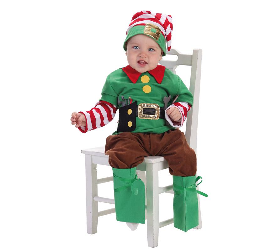 Disfraz de elfo ayudante de santa claus - Disfraz de santa claus para nino ...