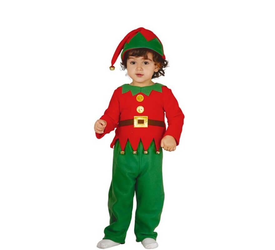 Disfraz de elfo o elfa baby para beb - Disfraz de navidad para bebes ...