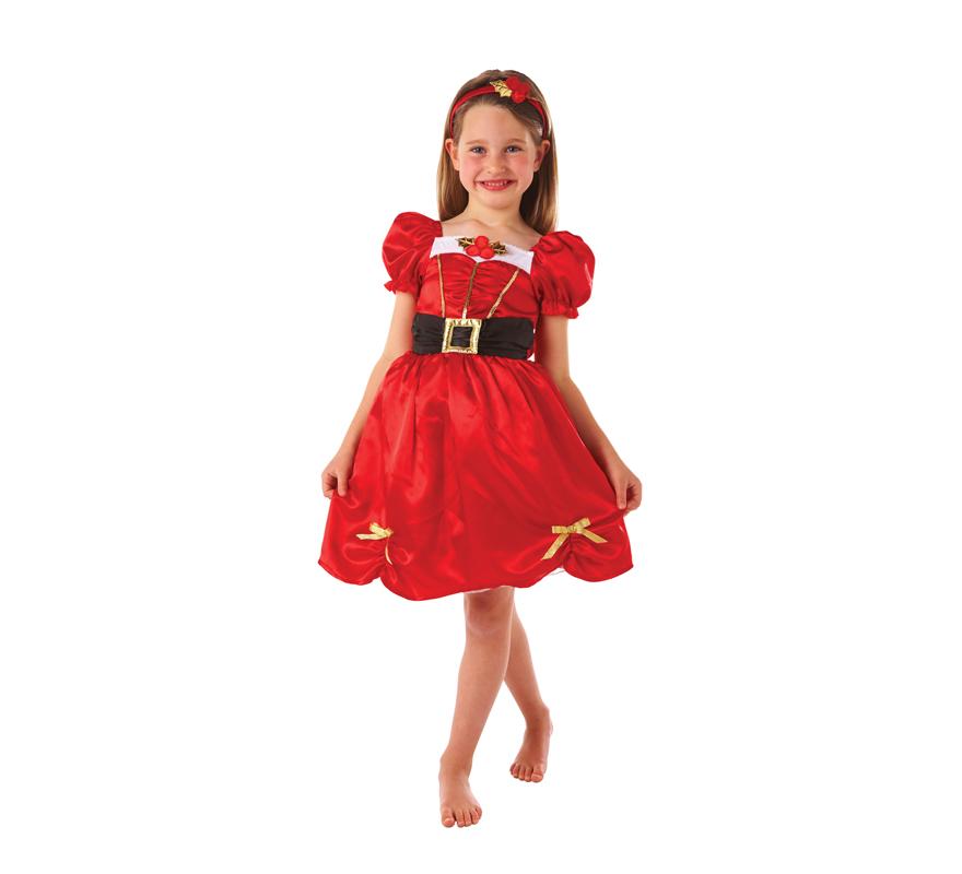 Disfraz de mam noel para ni as en varias tallas para navidad - Disfraz de navidad para bebes ...