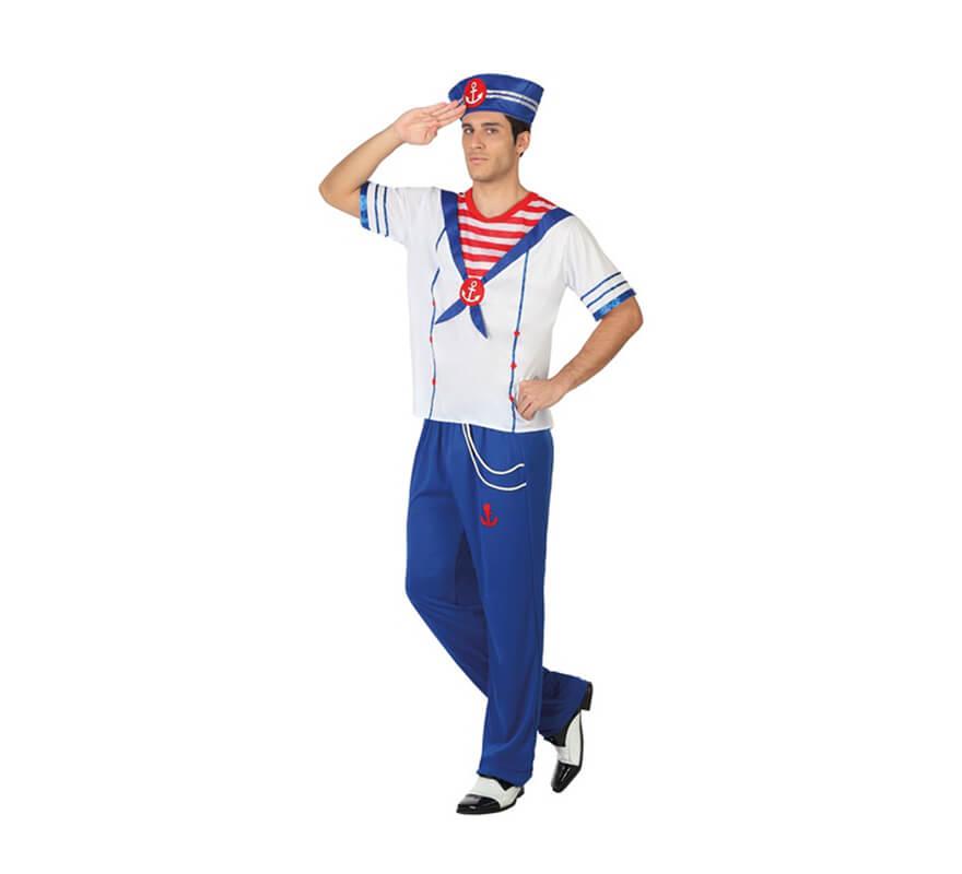 Disfraz de marinero para hombre - Disfraz de marinero casero ...