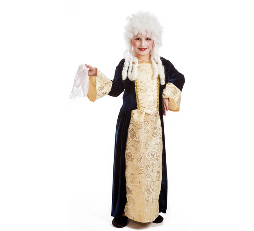 Disfraz de marquesa de poca para ni a for Disfraces de epoca