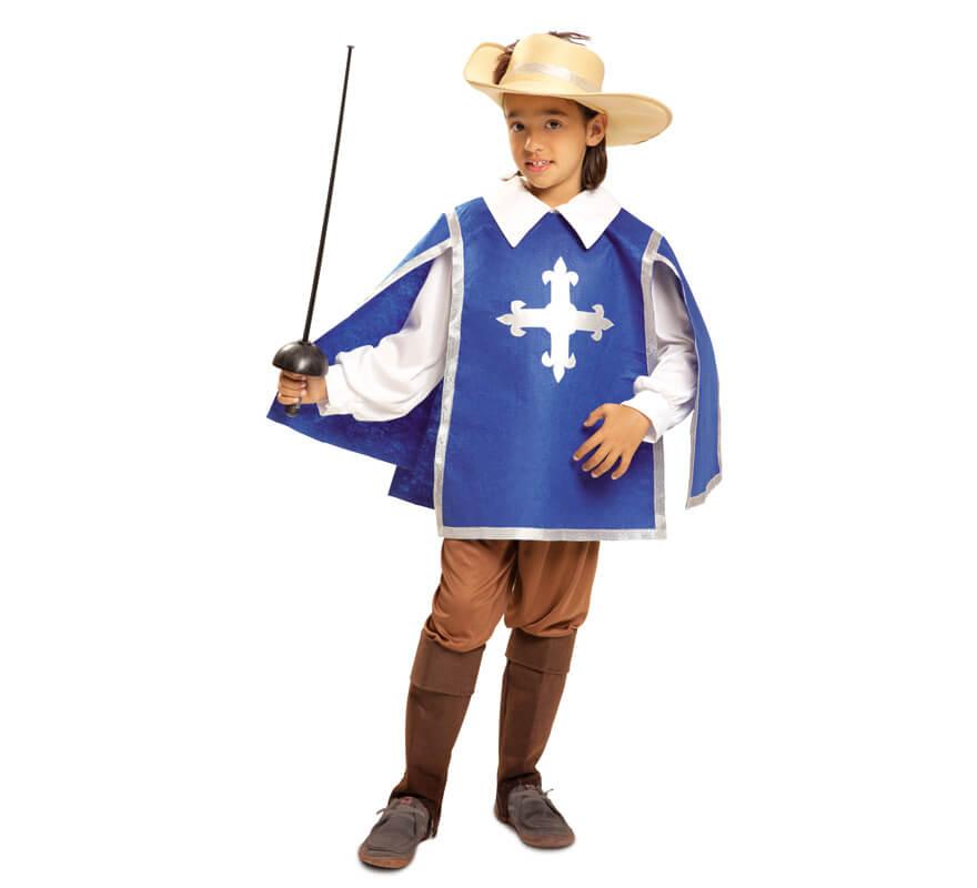 Disfraz de mosquetero azul para ni o - Disfraces de pina para ninos ...