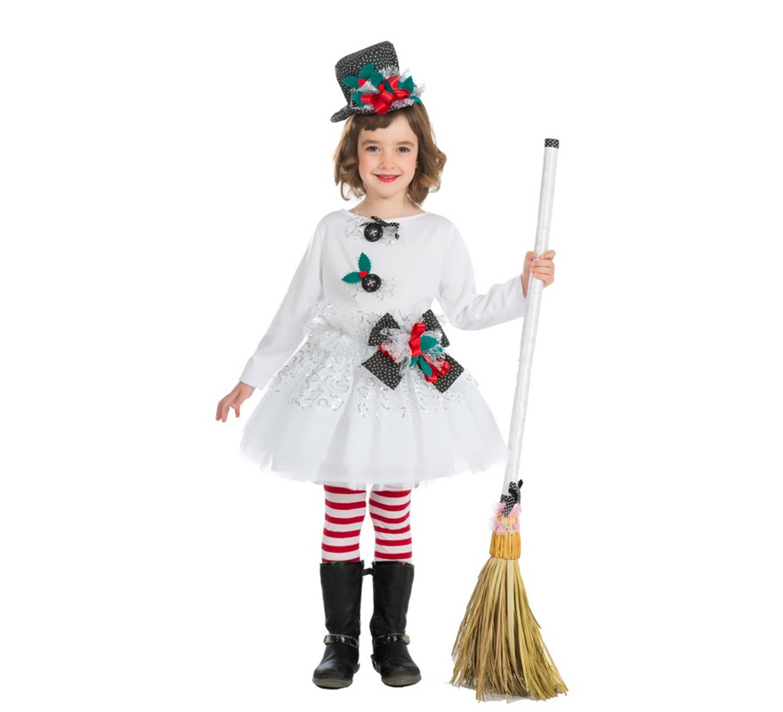 Disfraz de mu eco de nieve para beb s y ni as en varias - Disfraces para navidad ...