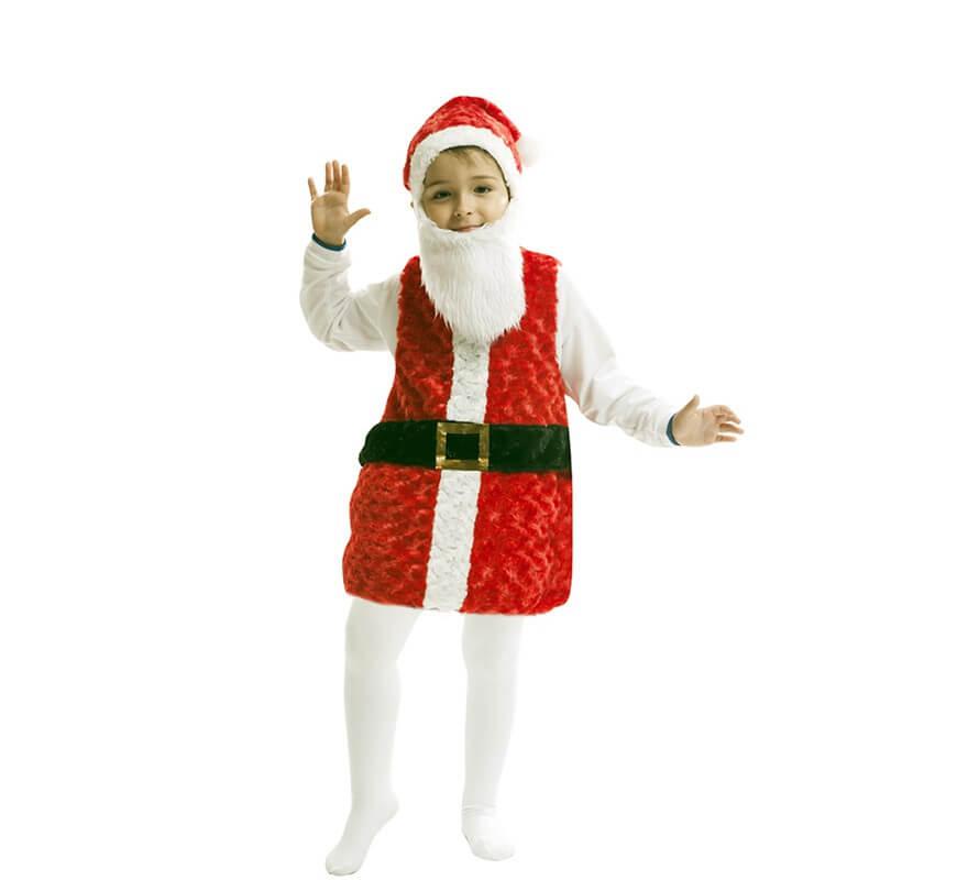 Disfraz de pap noel para ni o - Trajes de papa noel para ninos ...