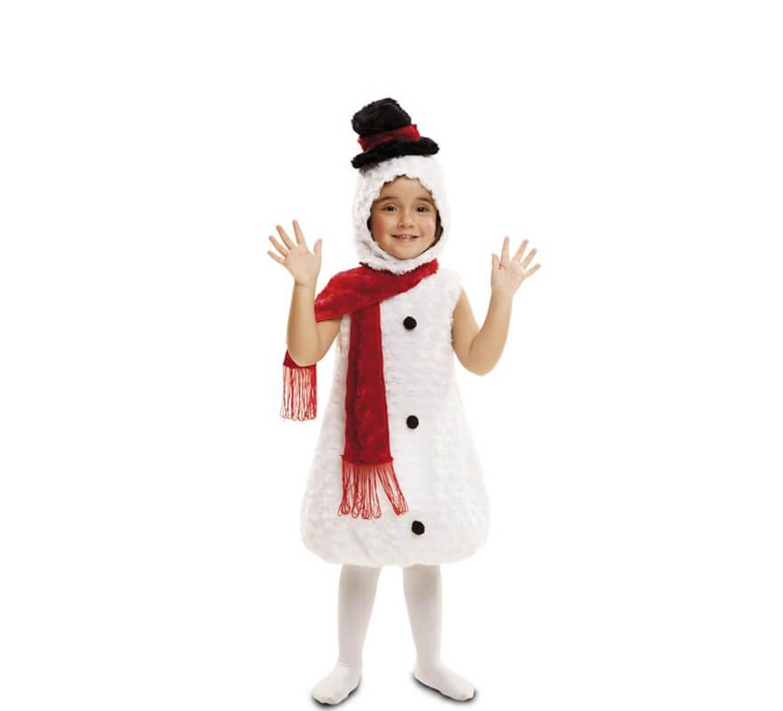 Disfraz de peluche mu eco de nieve para ni os disfrazzes - Disfraz para bebes ...