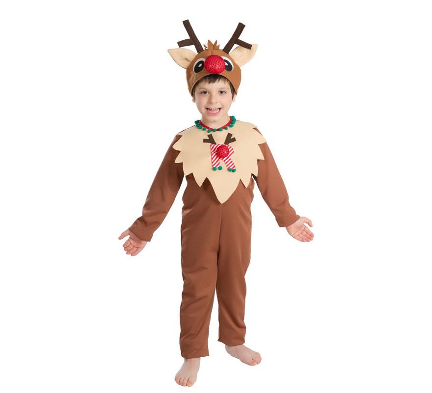 Disfraz de reno para beb s y ni os en varias tallas para - Disfraces de duendes navidenos para ninos ...