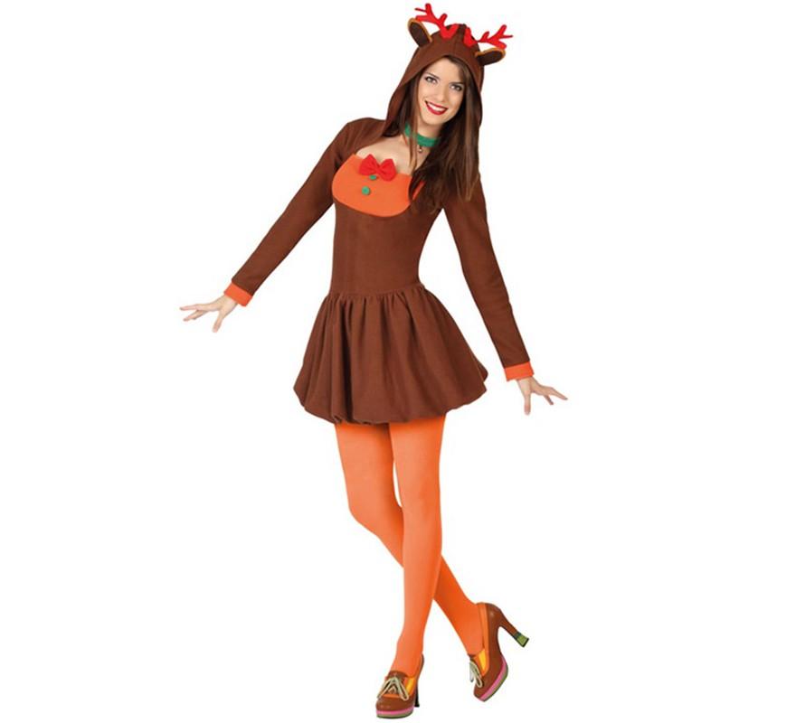 Disfraz de reno para mujer disfrazzes disfraces originales - Disfraz de reno nina ...