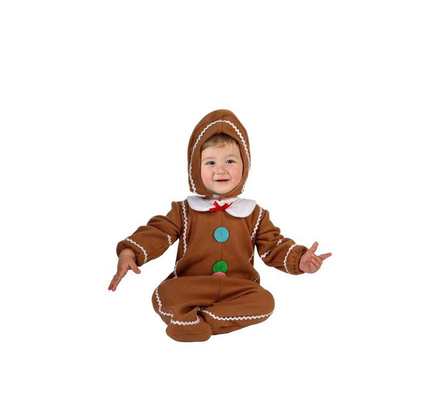 Disfraz de galleta de jengibre para hombre talla m l car for Hombre de jengibre