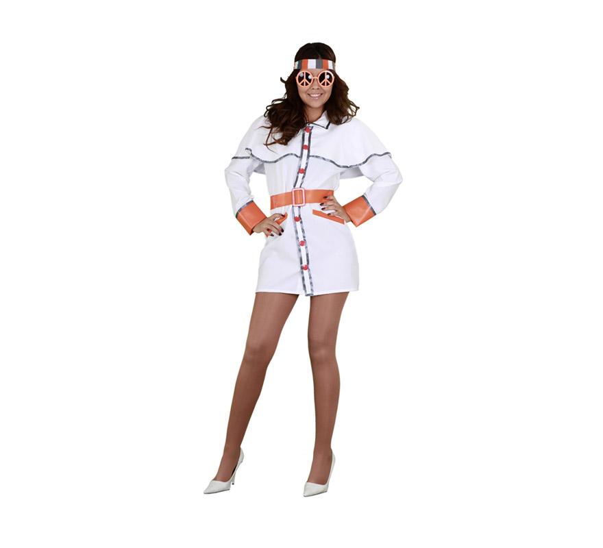 Disfraz de hippie para mujer talla m l disfrazzes tienda for Disfraz de hippie