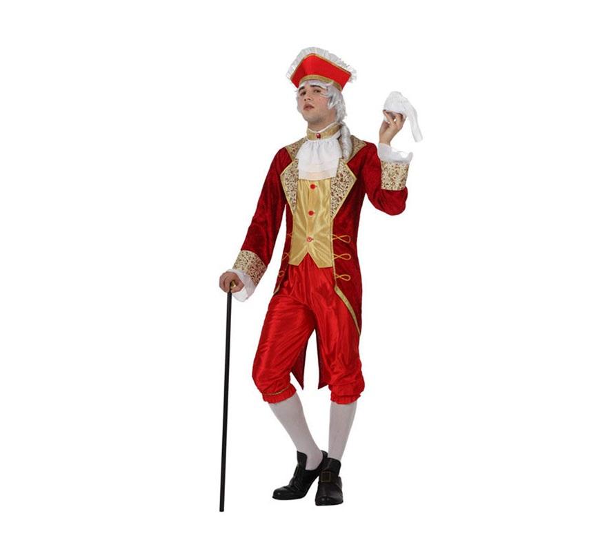 Disfraz cortesano de poca para hombre en varias tallas for Disfraces de epoca