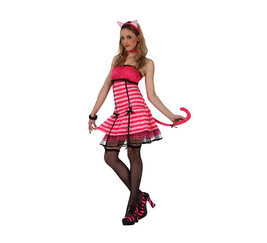 Disfraz de gatita sexy para mujer talla m l - Disfraces de gatitas para nina ...