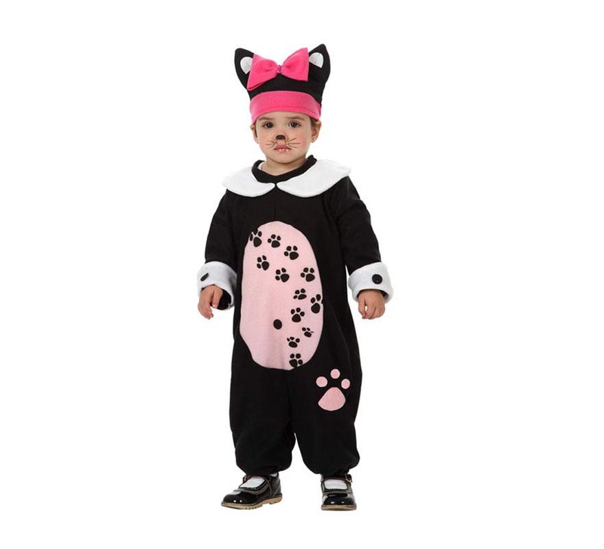 Disfraz de gatita para beb s de 12 a 24 meses disfrazzes - Disfraces de gatos para ninos ...