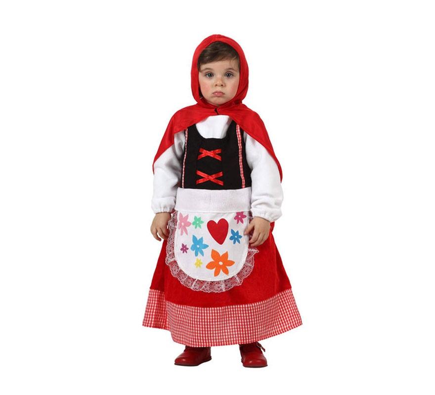 Disfraz de caperucita roja para beb en varias tallas - Disfraz bebe caperucita roja ...