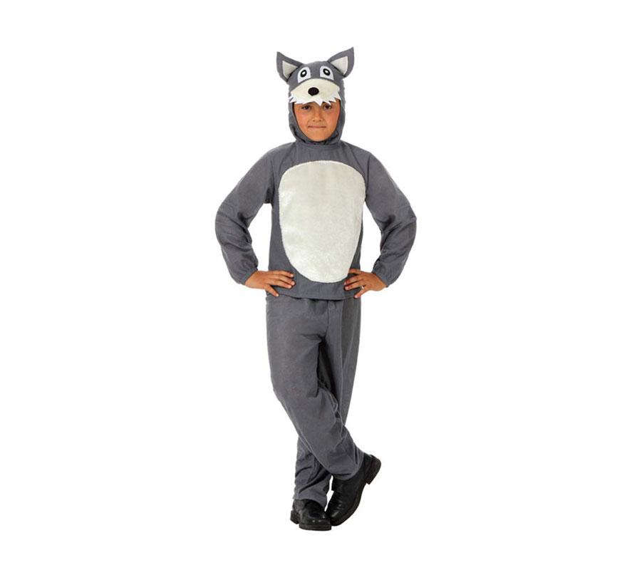 Disfraz de Lobo Feroz para niños de 3 a 4 años | Disfrazzes ...
