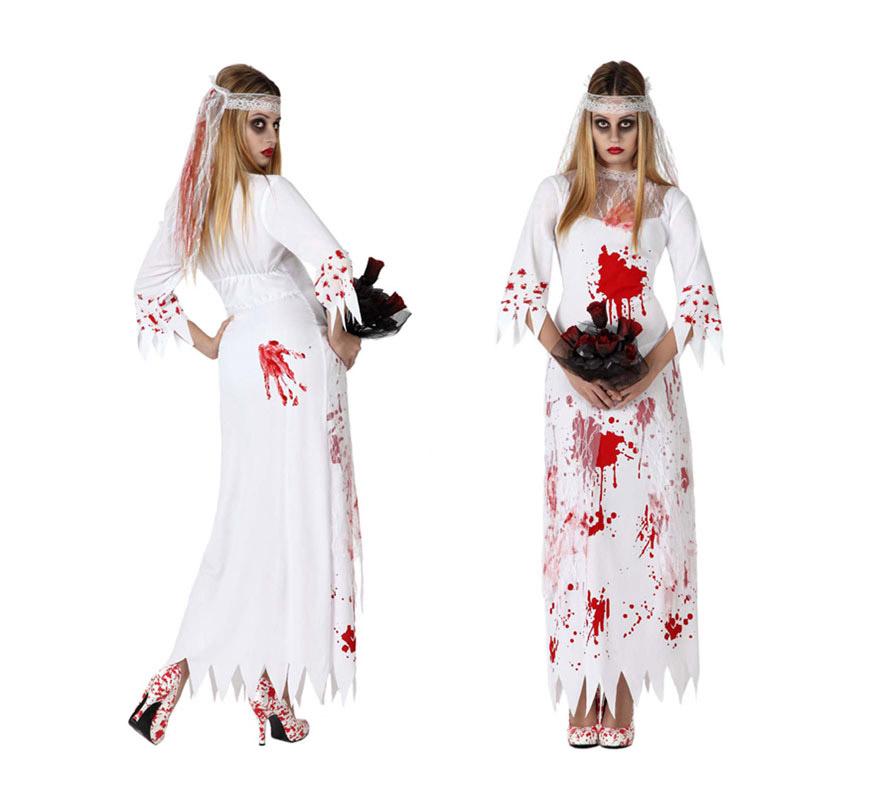 Disfraz de Novia Muerta para mujer en varias tallas