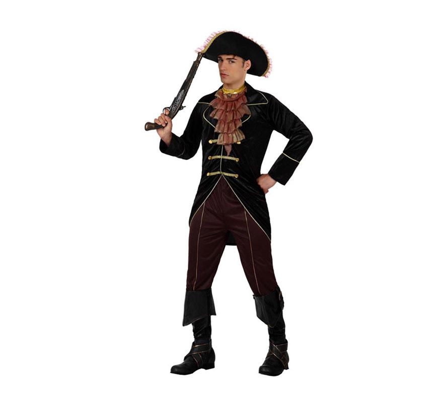 Disfraz de Pirata Elegante para hombre talla M-L