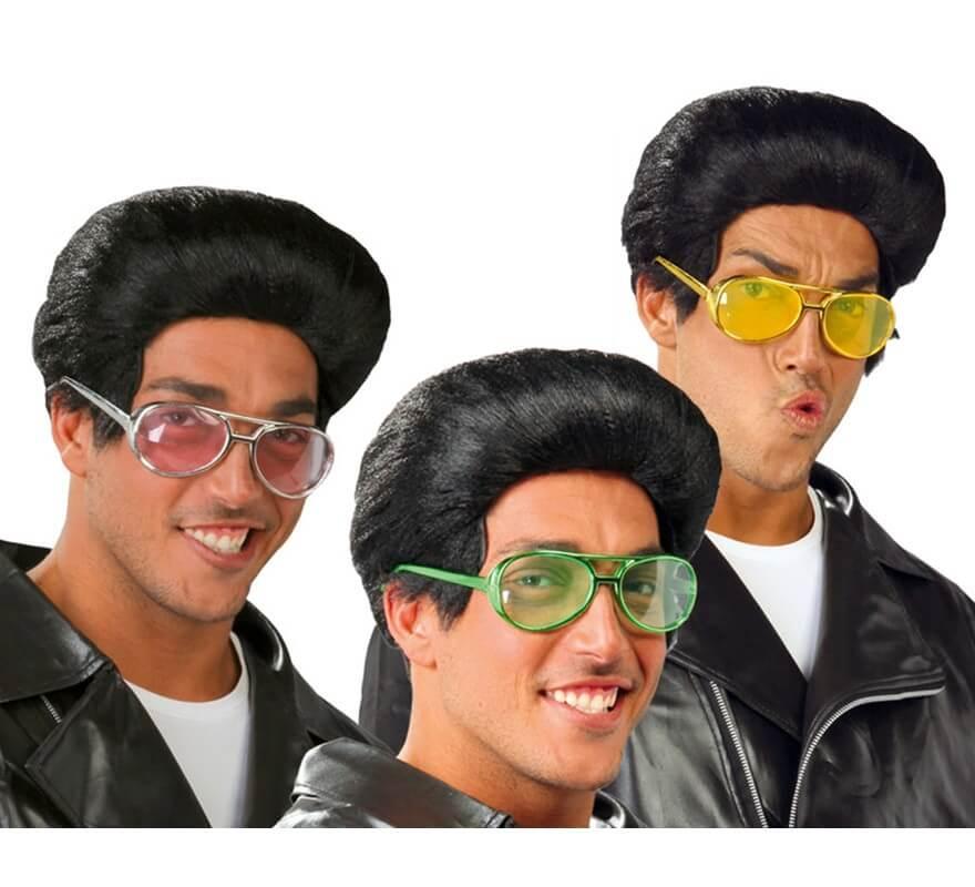 Gafas Rockeras metalizadas 3 colores surtidos