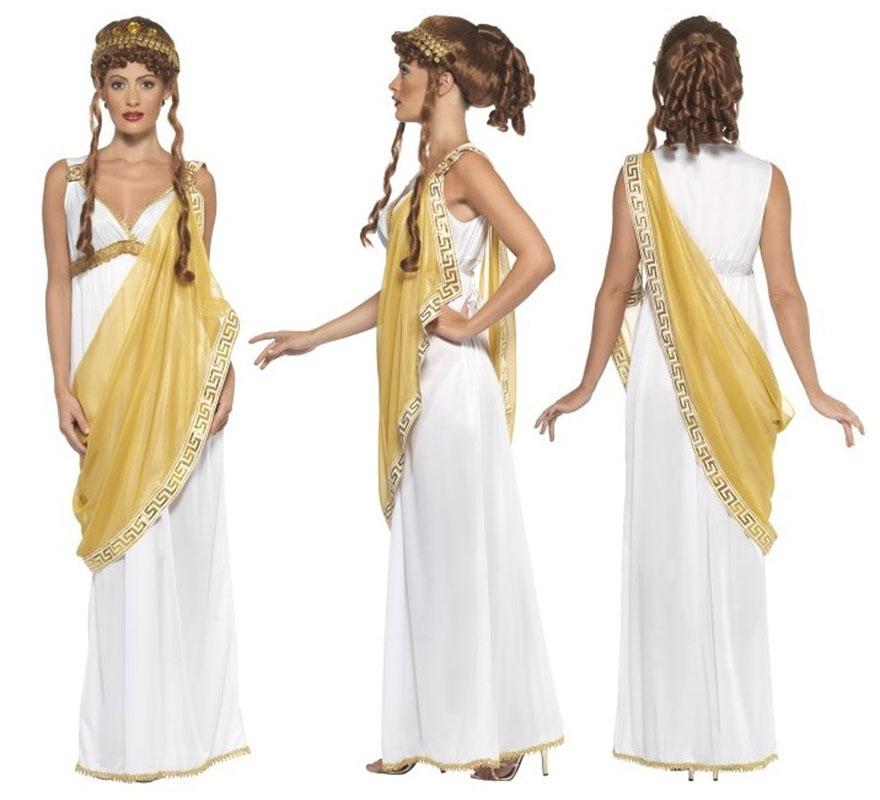 Disfraz de helena de troya talla s disfrazzes tienda for En la mitologia griega la reina de las amazonas