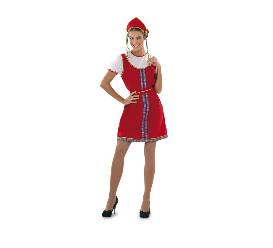 Disfraz de Rusa para mujer talla M-L
