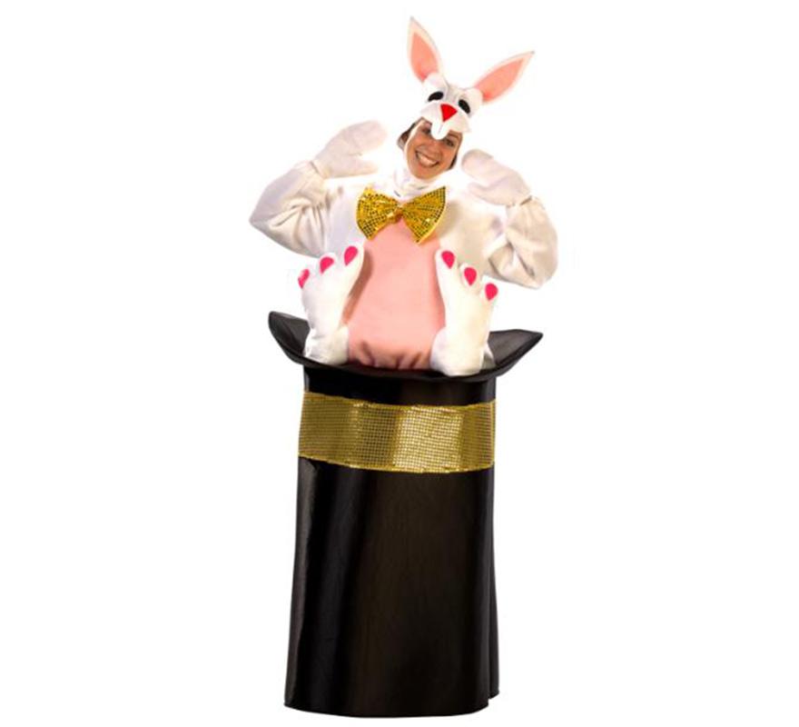 Disfraz Conejo con Chistera de Mago para adultos