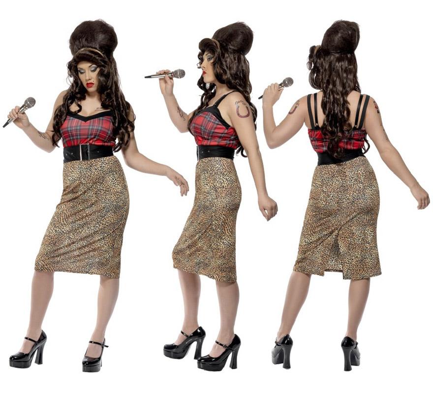 D guisement amy winehouse pour femme plusieurs tailles - Deguisement amy winehouse ...
