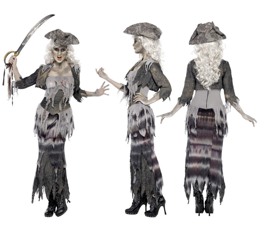 Disfraz Casero de Pirata Fantasma Disfraz de Pirata Fantasma