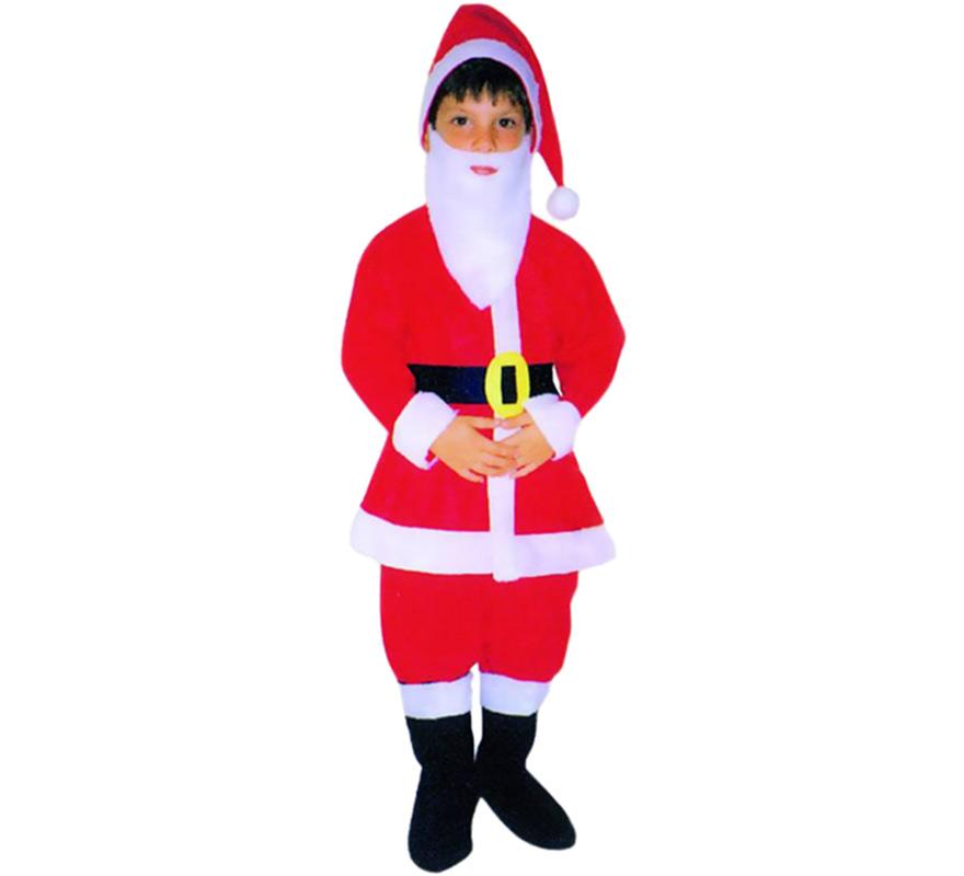 Disfraz de papa noel para ni o varias tallas - Disfraz papa noel nino ...