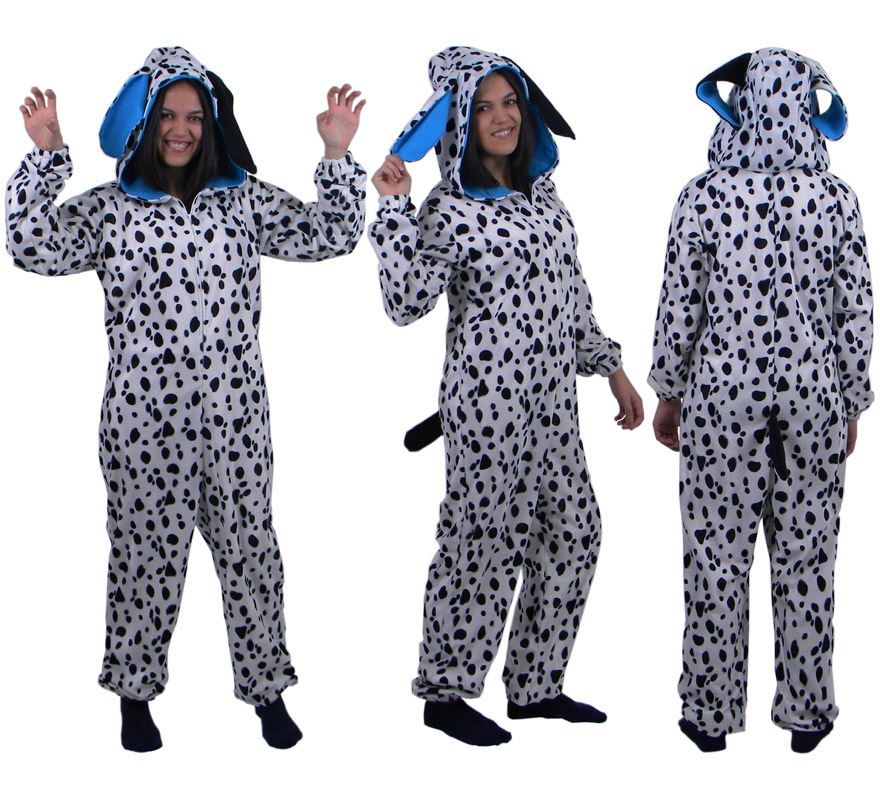 de Dálmata con capucha Azul para adultos | Disfrazzes | Tienda de