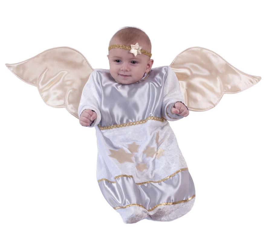 Disfraz o saquito de ngel para beb s en varias tallas - Disfraz de angel nino ...
