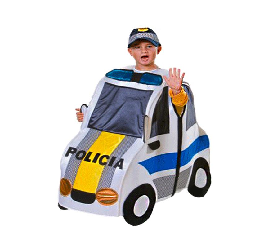 d guisement voiture de police pour enfants plusieurs tailles. Black Bedroom Furniture Sets. Home Design Ideas