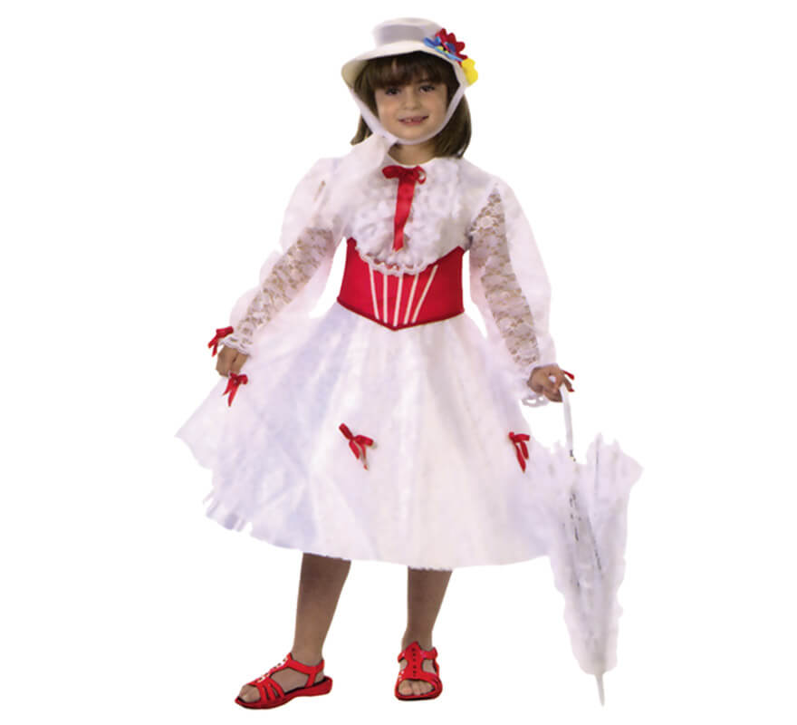 Disfraz de Institutriz para niña (varias tallas)