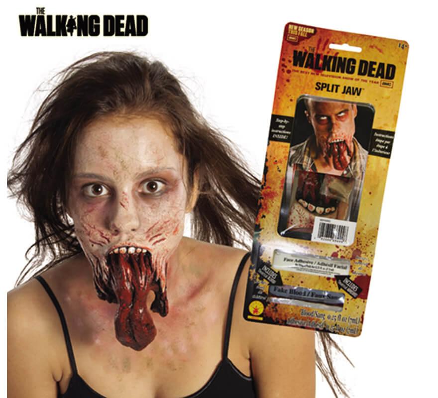 Maquillaje fx lengua zombie para halloween disfrazzes - Como maquillarse de zombie ...
