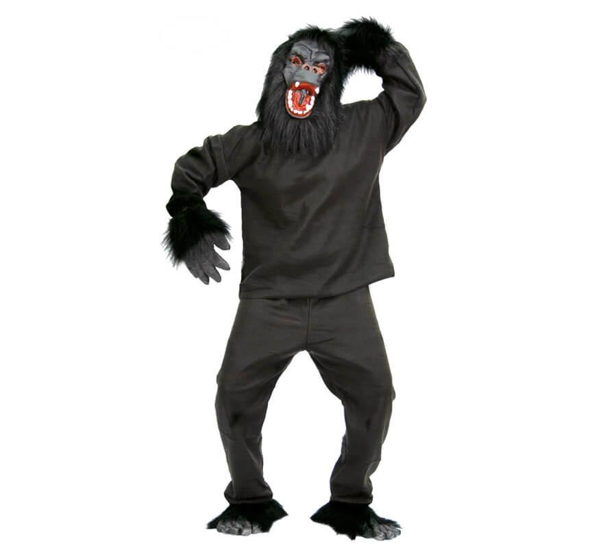 Disfraz de gorila de peluche para adulto barato Tienda