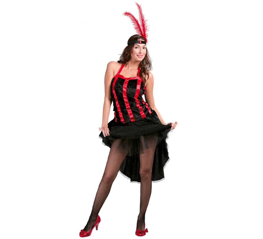 disfraz de cabaret para mujer adulta