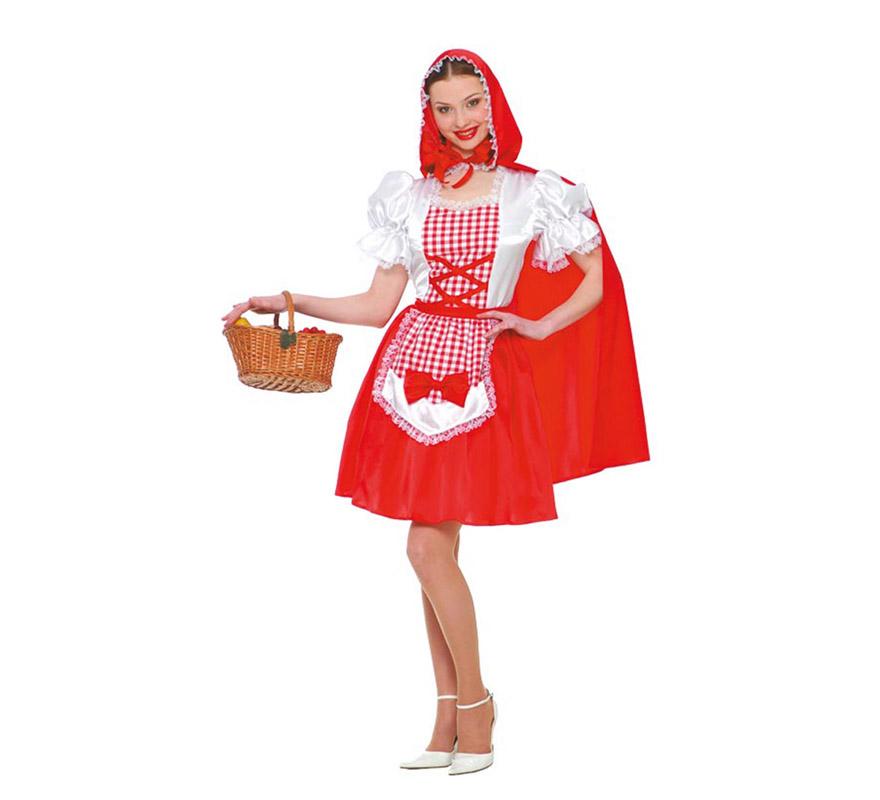 Disfraz de caperucita roja para mujer en carnaval - Disfraz bebe caperucita roja ...