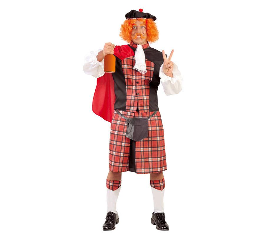 Disfraz de Escocés hombre para Carnaval