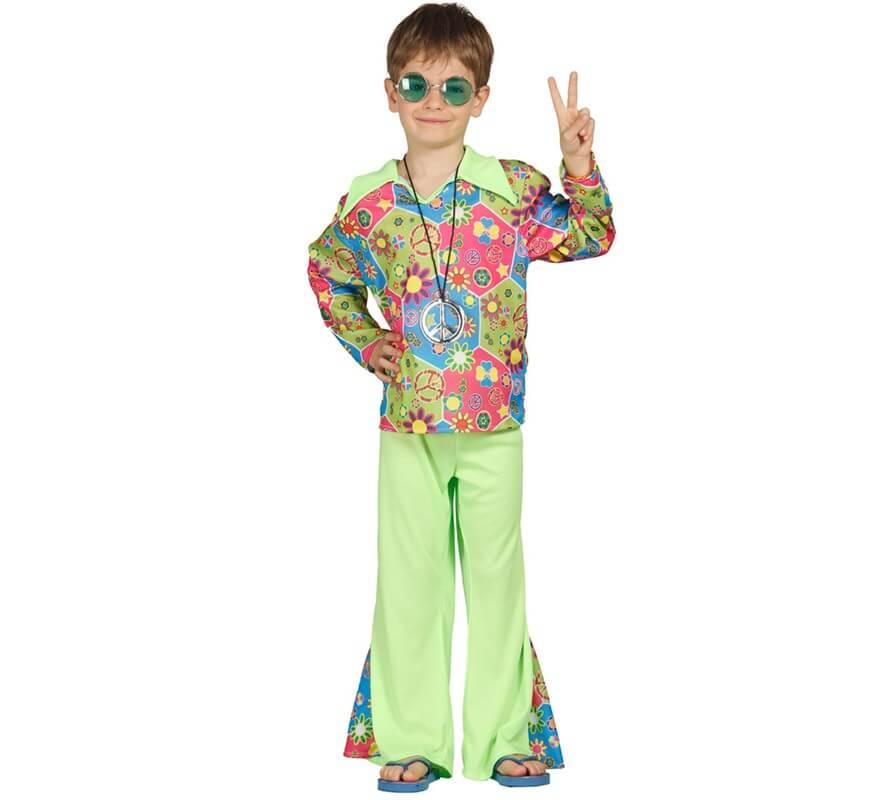 Disfraz de hippie boy para ni os de 3 a 4 a os - Disfraces para bebes de un ano ...