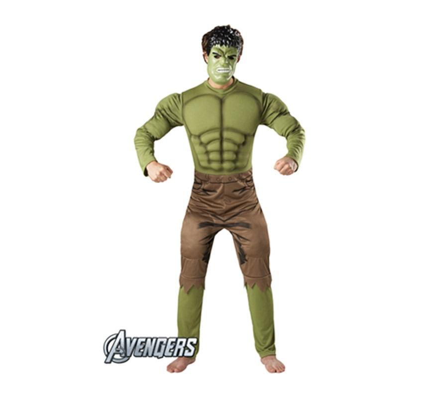 Disfraz de Hulk Musculoso para adultos