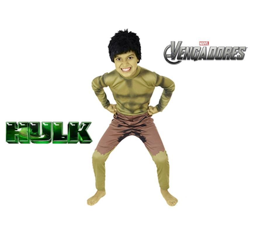 Disfraz de Hulk para niños