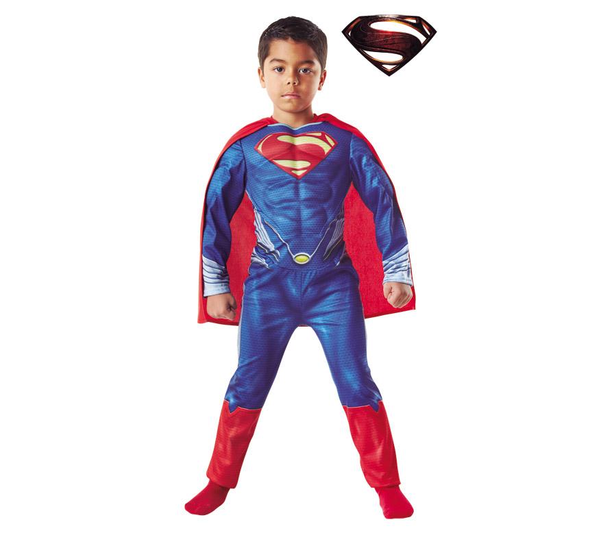 Disfraz Superman Niño Musculoso Disfraz de Superman Musculoso