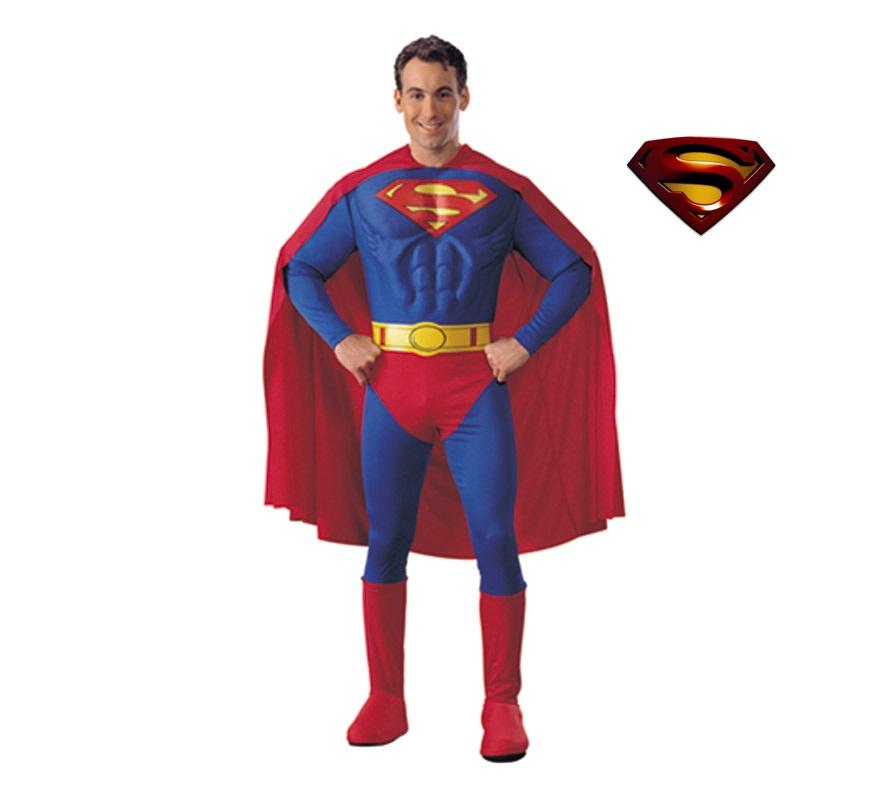 Disfraz Superman Musculoso Disfraz de Superman Pecho