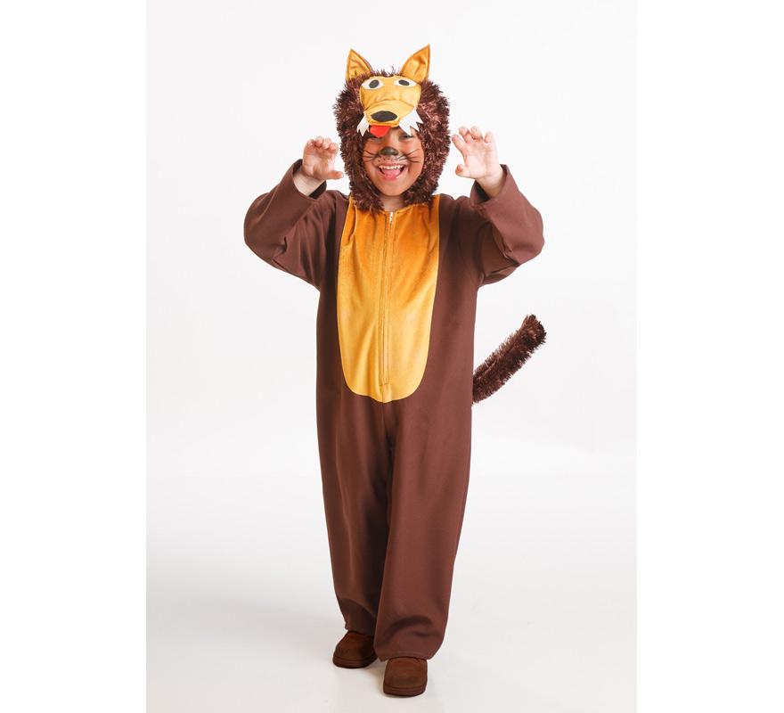 Disfraz de Lobo Marrón para Niño de 5 a 7 años | Disfrazzes ...