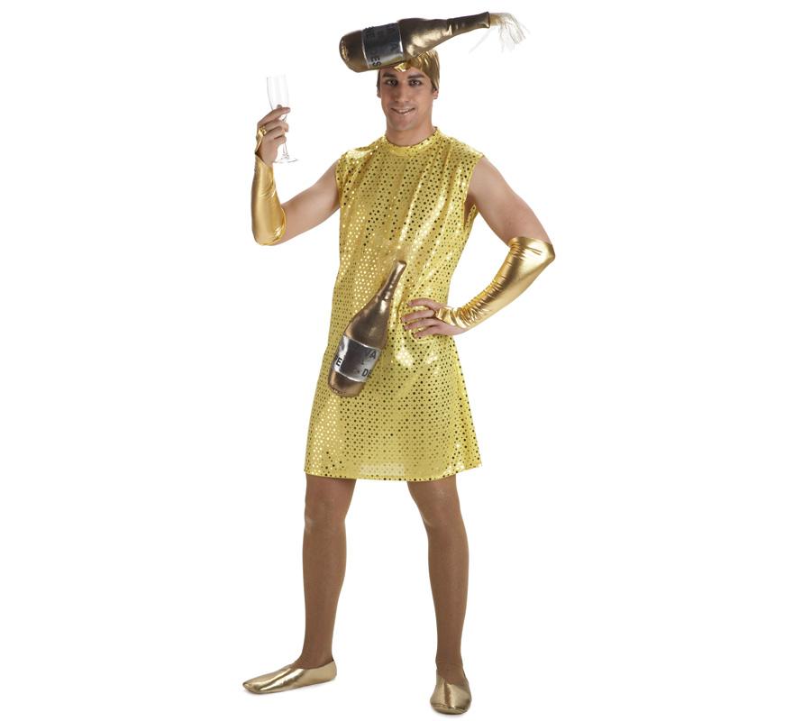 Disfraz de Burbujita de Cava para hombre