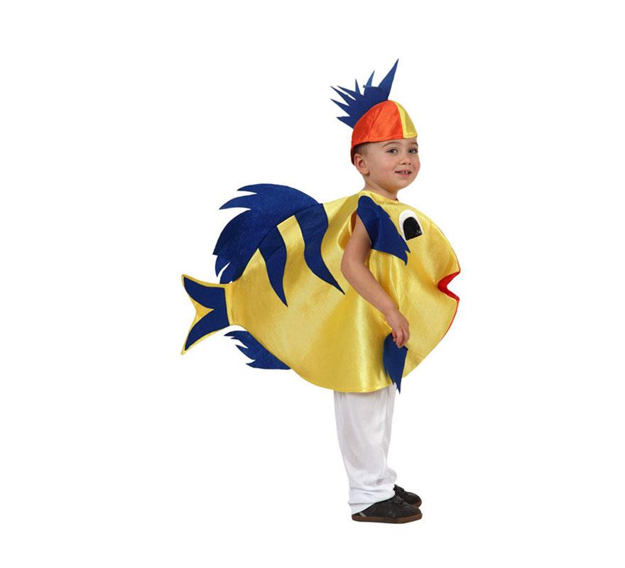 Disfraz de Pez 5-6 años para niños | Disfrazzes | Tienda de ...