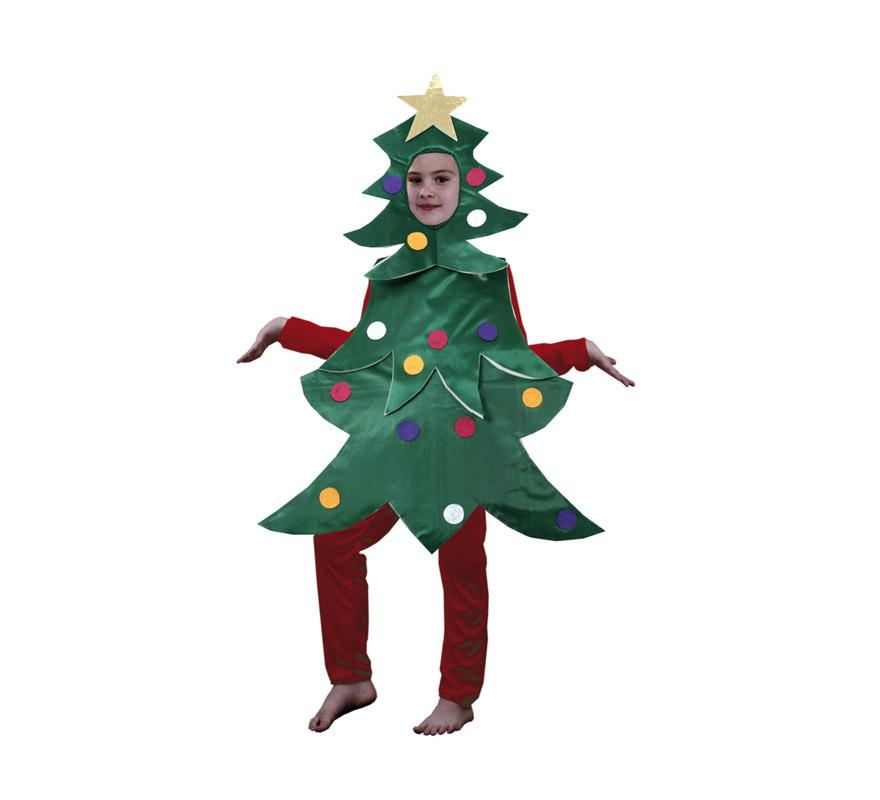 Disfraz de rbol de navidad en varias tallas para ni os - Disfraces navidenos para bebes ...
