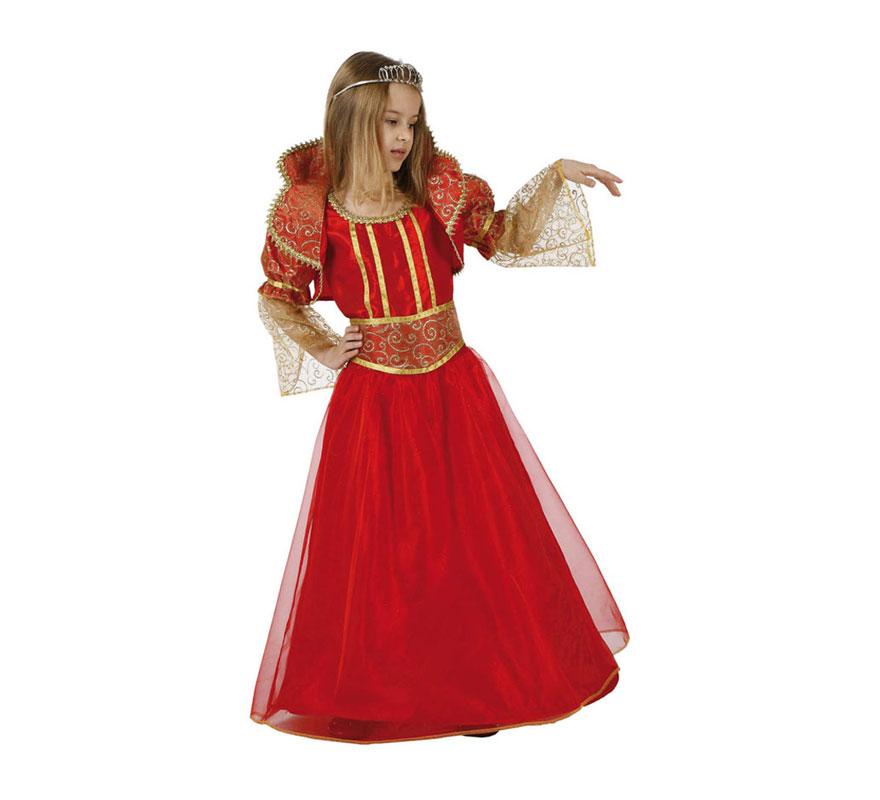 Disfraz de princesa o reina rojo para ni as en varias - Halloween hipercor ...